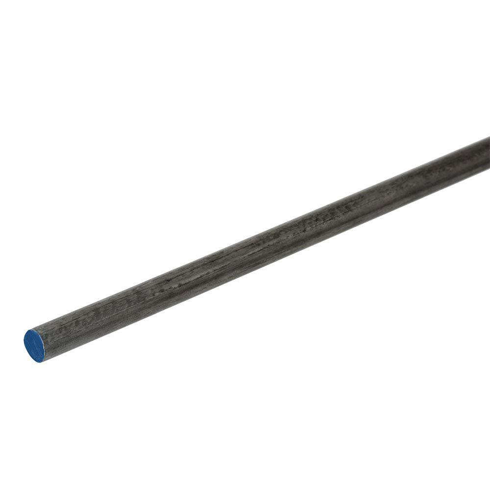 5/8 in. x 36 in. Plain Steel Cold Rolled Round Rod