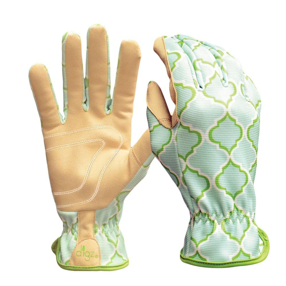 Planter Women's Medium Multi Colored Synthetic Leather Glove (2-Pack)