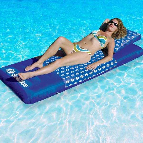 Solstice Designer Mattress/ Floating Lounger with Removable Pillow