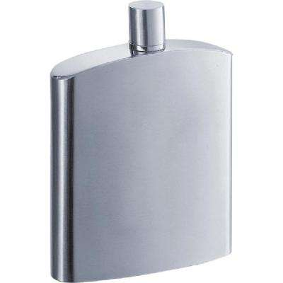 Inspira Satin 8 oz. Liquor Flask