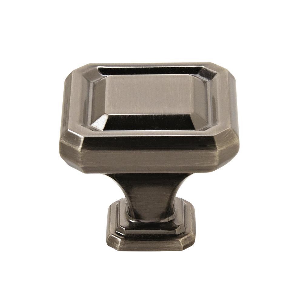 Wells 1-1/2 in (38 mm) Length Gunmetal Cabinet Knob
