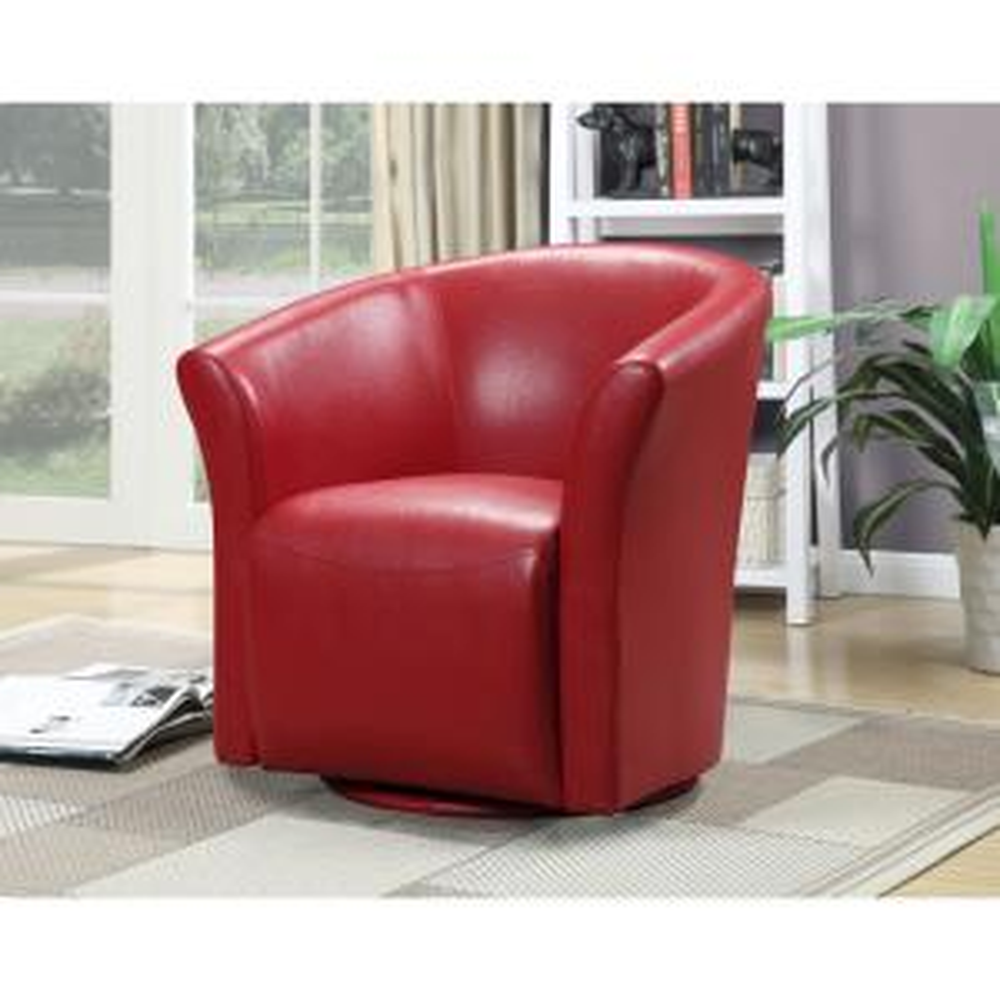 Magnificent Radford Red Swivel Chair Urt891100Swca The Home Depot Ibusinesslaw Wood Chair Design Ideas Ibusinesslaworg