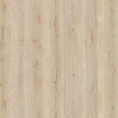 5 ft. x 12 ft. Laminate Sheet in 180fx White Knotty Maple with SatinTouch Finish