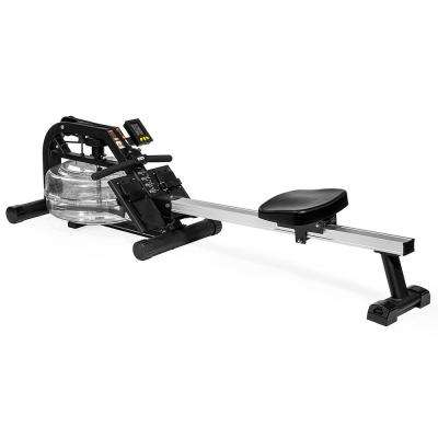 Water Motion Rowing Machine Fitness Workout with Adjustable Resistance