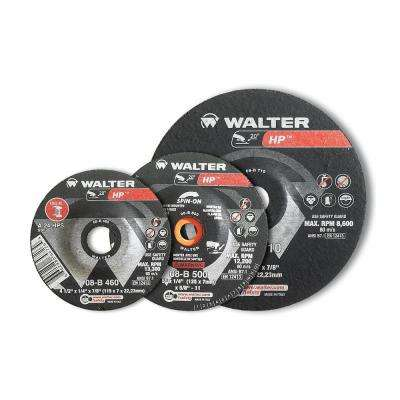 HP Combo 3 in. x 3/8 in. Arbor x 1/8 in. T27 A-24-Combo Cutting and Grinding Combo (25-Pack)