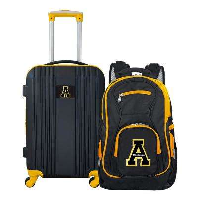 NCAA Appalachian State Mountaineers 2-Piece Set Luggage and Backpack