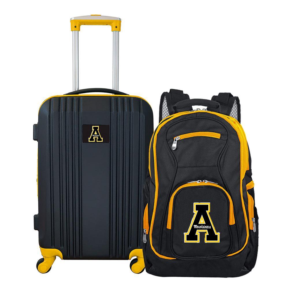 Mojo NCAA Appalachian State Mountaineers 2-Piece Set Luggage and Backpack