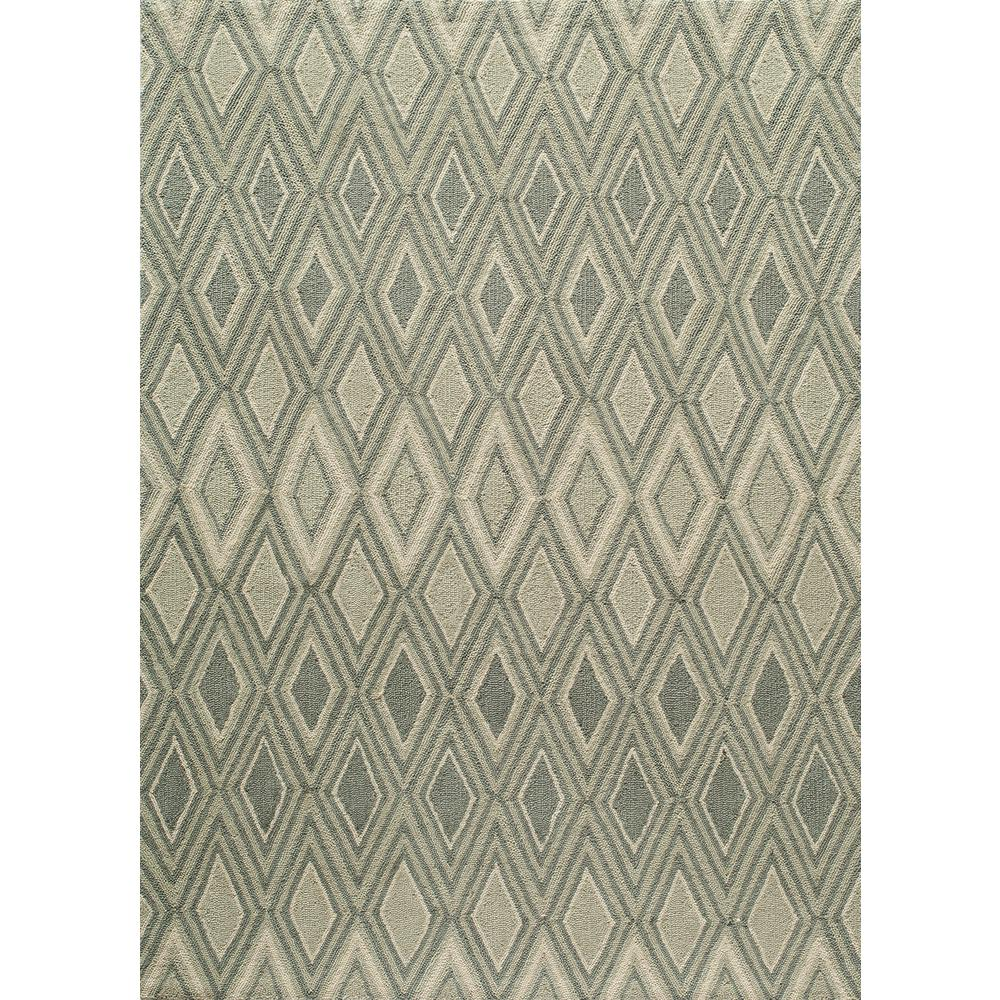 Geo Grey 7 ft. 6 in. x 9 ft. 6 in.