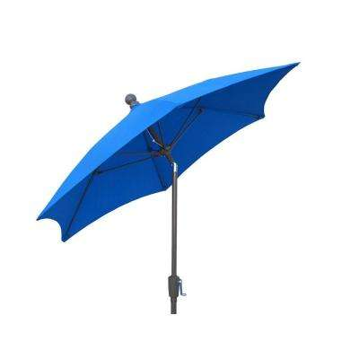 9 ft. Patio Umbrella in Pacific Blue
