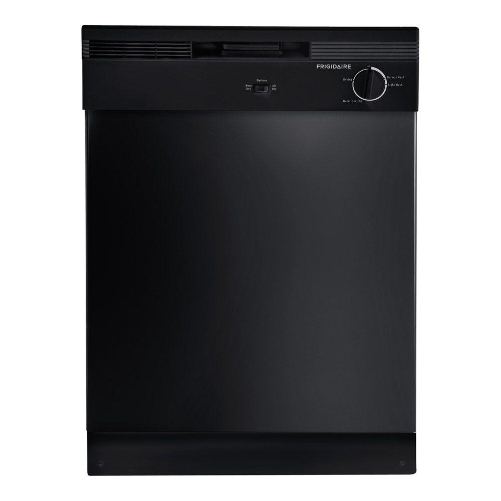 Frigidaire front control dishwasher in black fbd2400kb the home frigidaire front control dishwasher in black fbd2400kb the home depot rubansaba