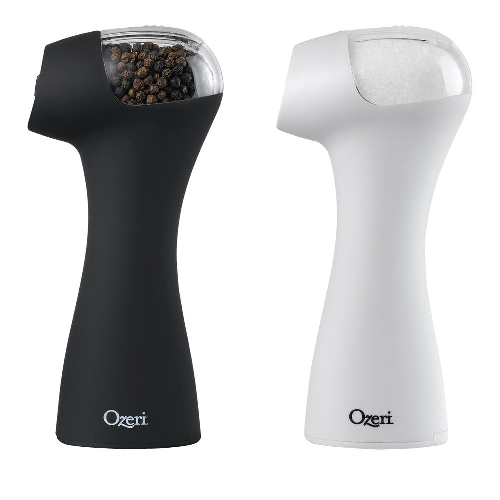 Ozeri Graviti Pro Ii Electric Salt And Pepper Grinder Set Bpa Free