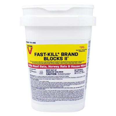 Fast-Kill 4.03 lbs. Rodenticide Bait Blocks