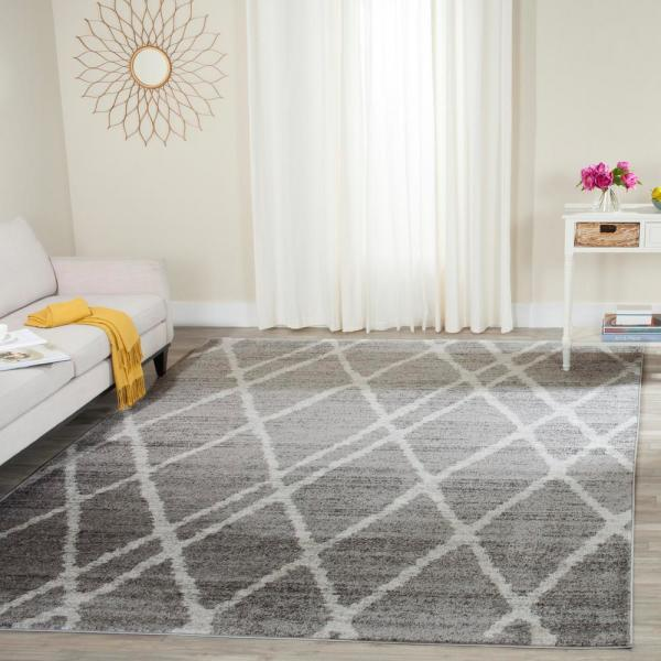 Safavieh Adirondack Ivory Silver 9 Ft X 12 Ft Area Rug Adr128b 9 The Home Depot