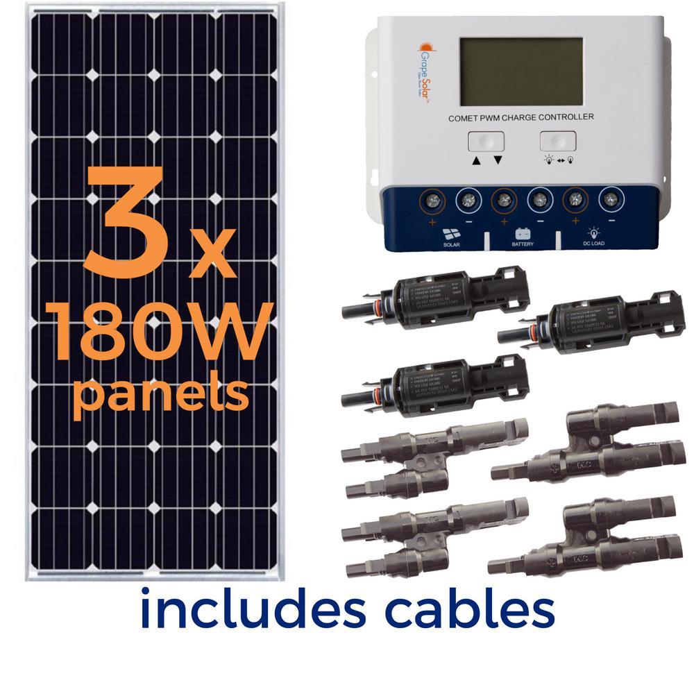 540-Watt Off-Grid Solar Panel Kit