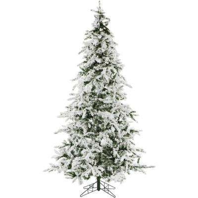 7.5 ft. White Pine Snowy Artificial Christmas Tree