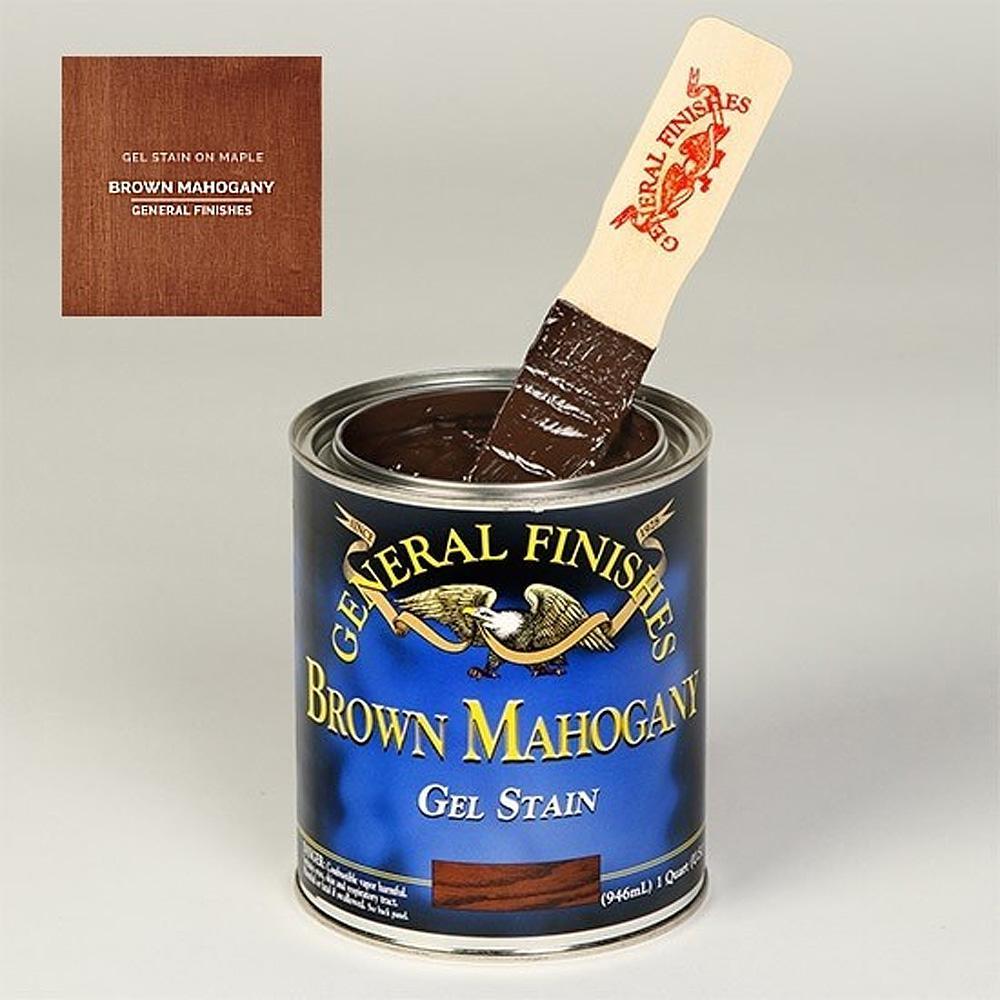 1 gal. Brown Mahogany Oil-Based Interior Wood Gel Stain