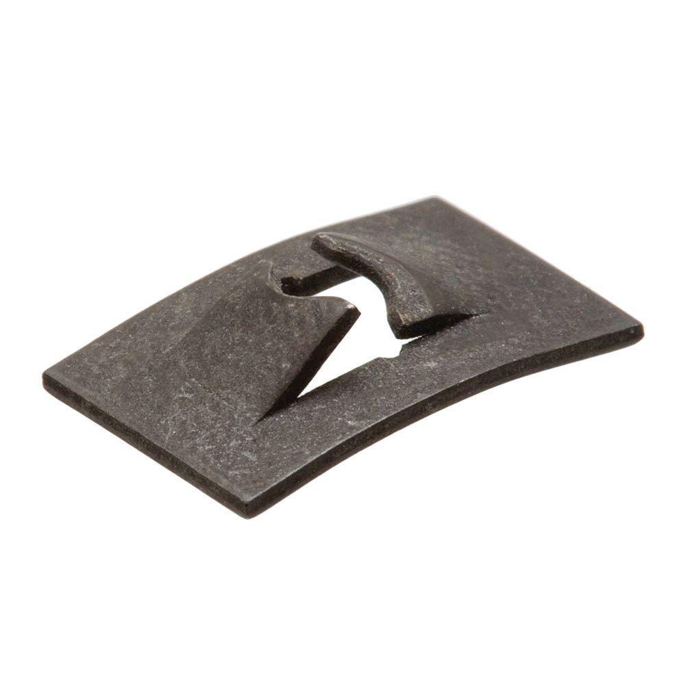 #8-32 Plain Steel Flat Type Speed Nut (2 per Pack)