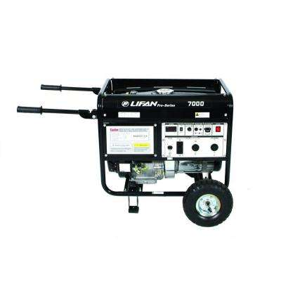 Pro-Series 7,000-Watt 389cc Gasoline Powered Portable Generator with CARB