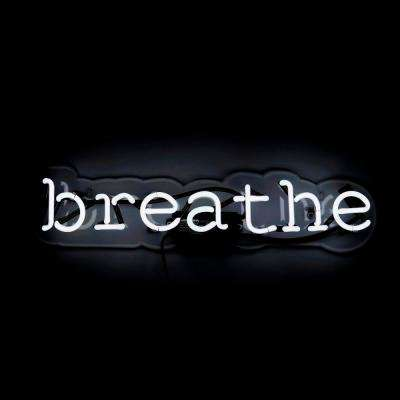 Oliver Gal 'Breathe' Plug-in Neon Lighted Sign