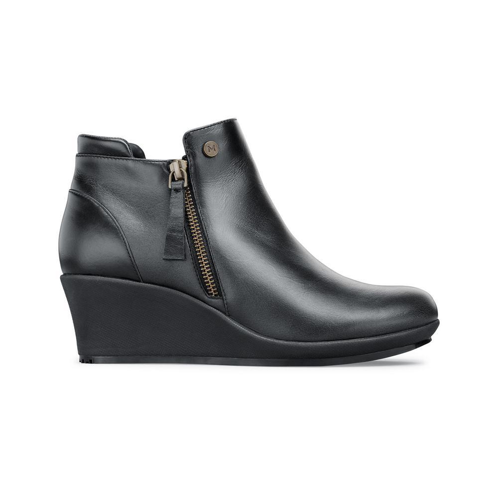 Lola Women's Size 6.5M Black Mesh/Synthetic Slip-Resistant Work Shoe