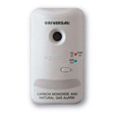 Plug-In Combination Carbon Monoxide and Natural Gas Alarm