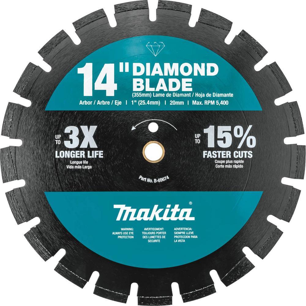 14 in. Segmented Rim Dual Purpose Diamond Blade