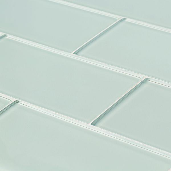 Siberian Gloss 11.625 in. x 11.75 in. x 8 mm Interlocking Glass Mosaic Tile