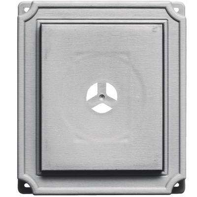 7 in. x 8 in. #016 Gray Scalloped Mounting Block