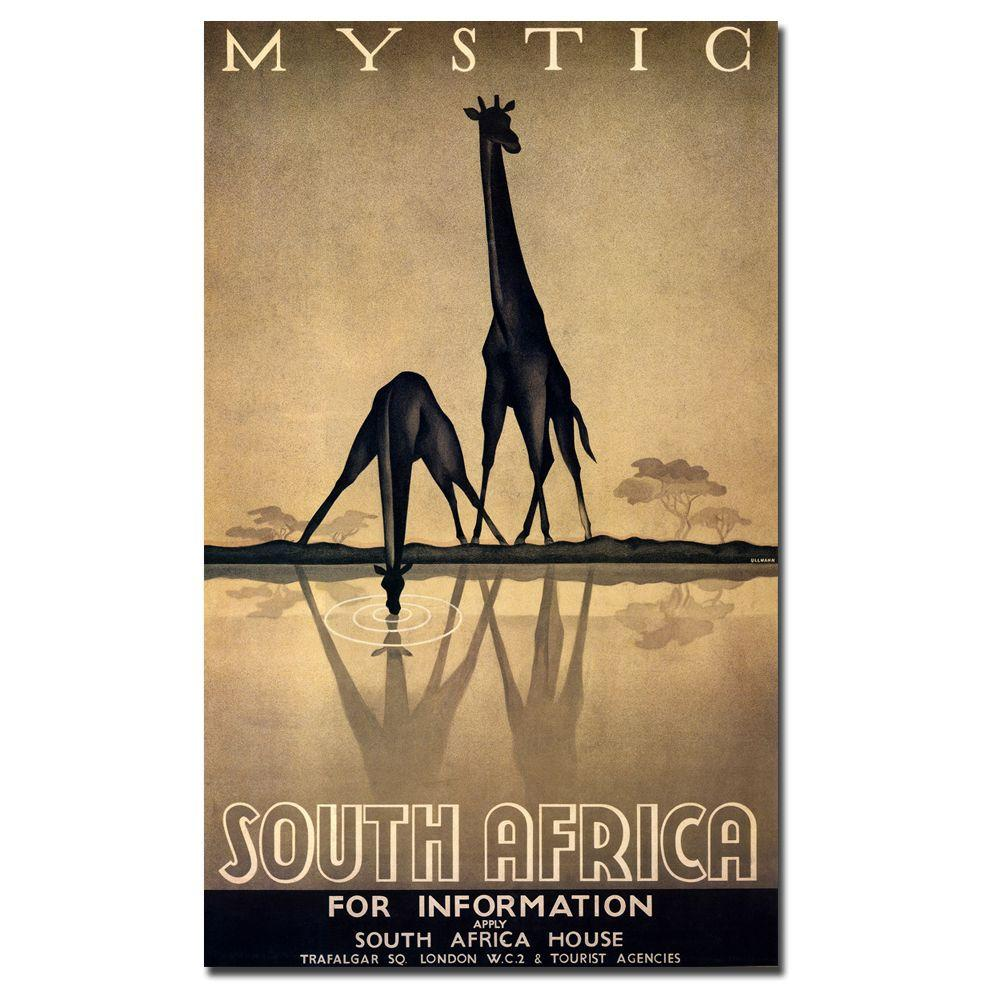Trademark Fine Art 24 in. x 32 in. Mystic South Africa Canvas Art