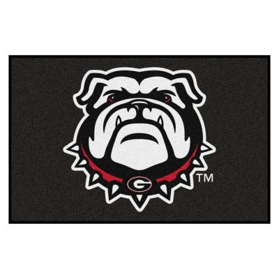 FANMATS Ncaa University of Georgia 19 in. x 30 in. Starter Mat Area Rug