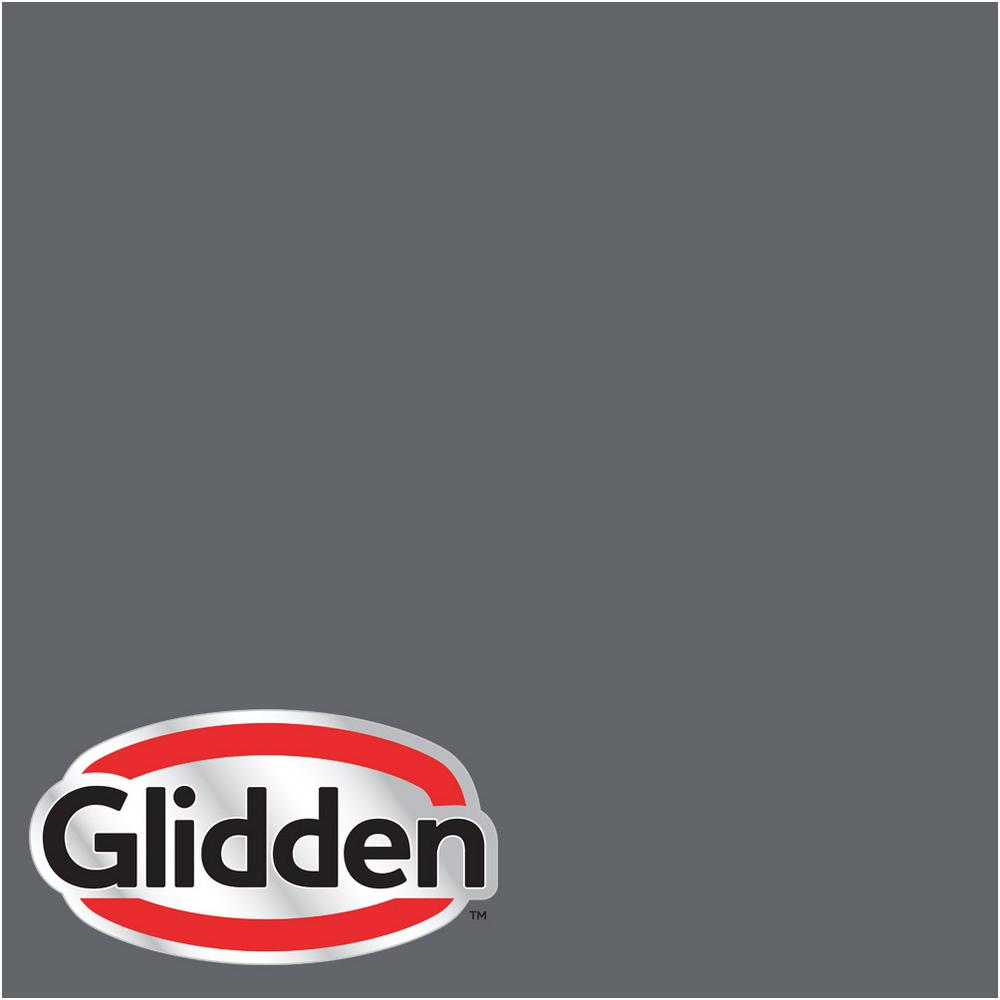 Glidden Premium 8 Oz Hdgcn39d Dark Grey Silk Satin