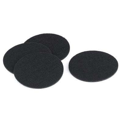 4 in. Round Felt Pads (4-Pack)