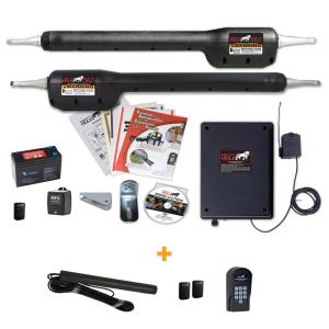 Mighty Mule Heavy Duty Dual Swing Automatic Gate Opener Enhanced Access Package by Mighty Mule
