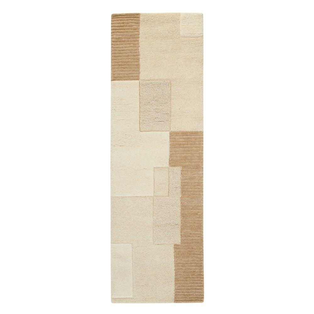 Home Decorators Collection Clara Natural 2 ft. 6 in. x 14 ft. Rug Runner