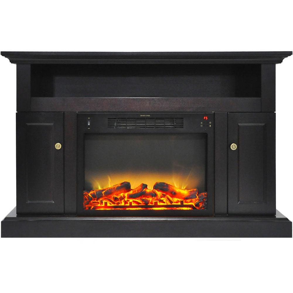Sorrento 47 in. Electric Fireplace with an Enhanced Log Display and