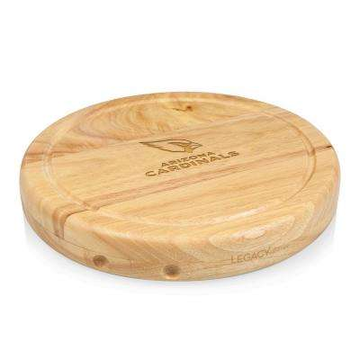 Arizona Cardinals Circo Wood Cheese Board Set with Tools