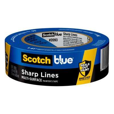 1.41 in. x 60 yds. Advanced Multi-Surface Painter's Tape with Edge-Lock (3-Pack) (Case of 8)