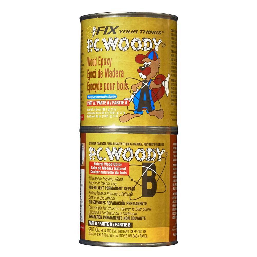 48 oz. PC-Woody Wood Epoxy Paste