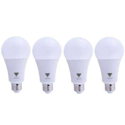 150-Watt Equivalent A21 Dimmable 2550 Lumens LED Light Bulb Soft White 3000K (4-Pack)