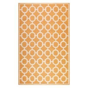 Espana Orange 7 Ft. 6 In. X 9 Ft. 6 In. Area · Home Decorators ...