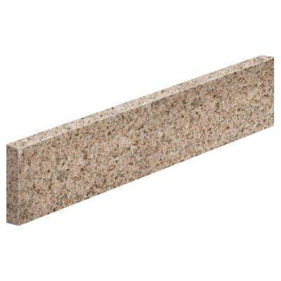 17 in. Granite Sidesplash in Beige