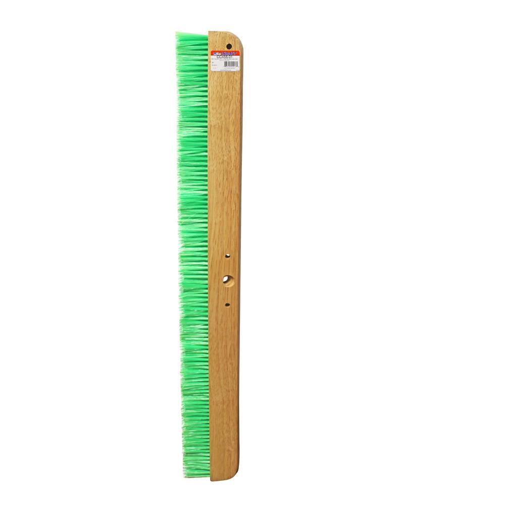 36 in. Green Nylex Soft Finish Broom Head