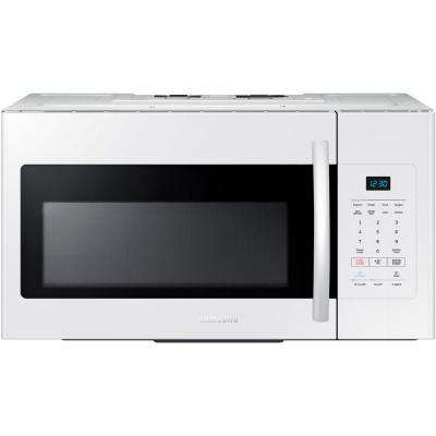 30 in. W 1.6 cu. ft. Over the Range Microwave in White
