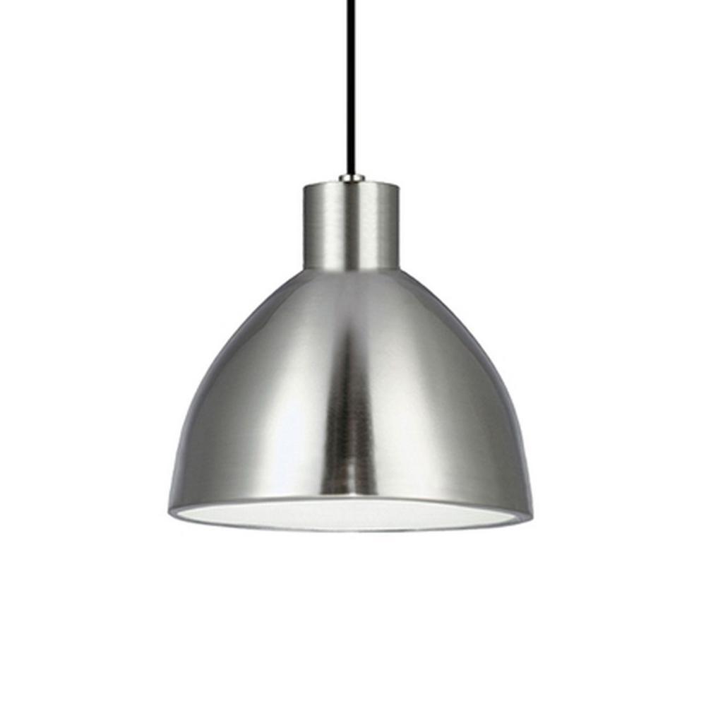 Kara 1-Light 40-Watt Equivalence Brushed Nickel Integrated LED Pendant