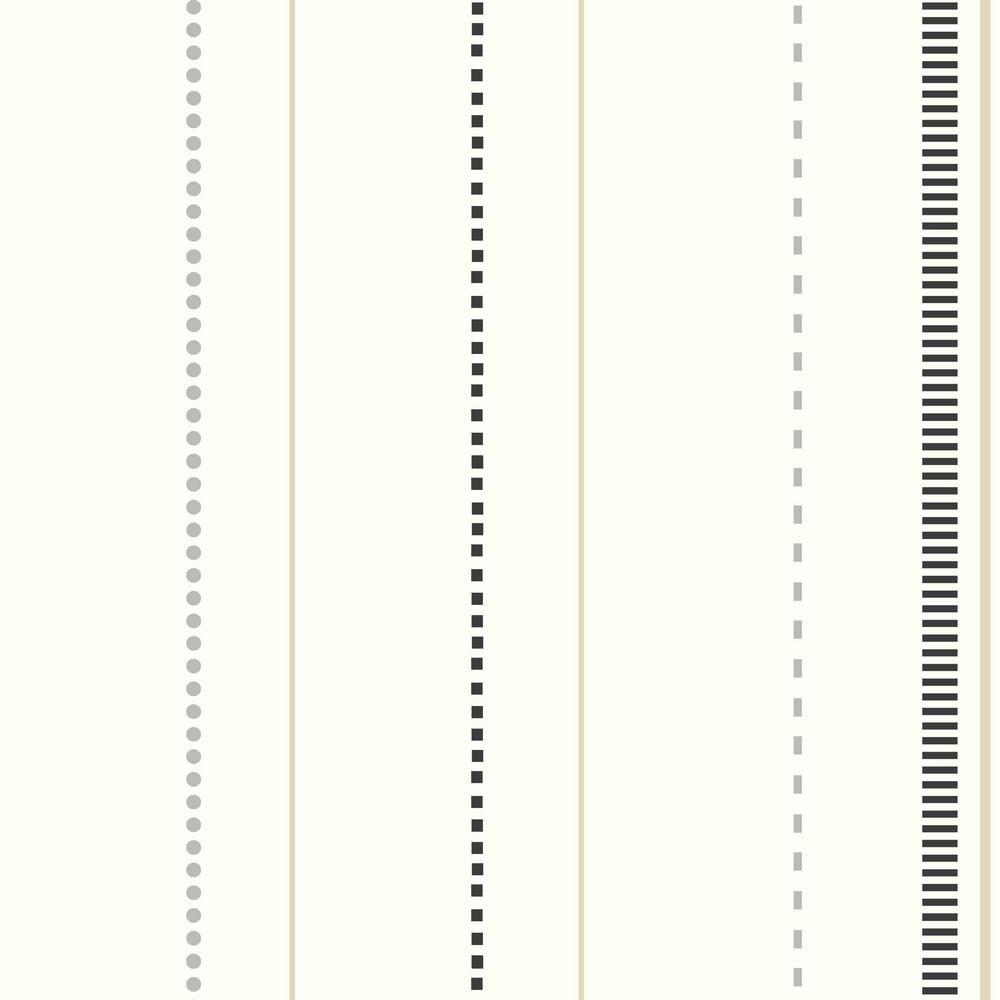 DwellStudio Baby and Kids Skyline Stripe Wallpaper