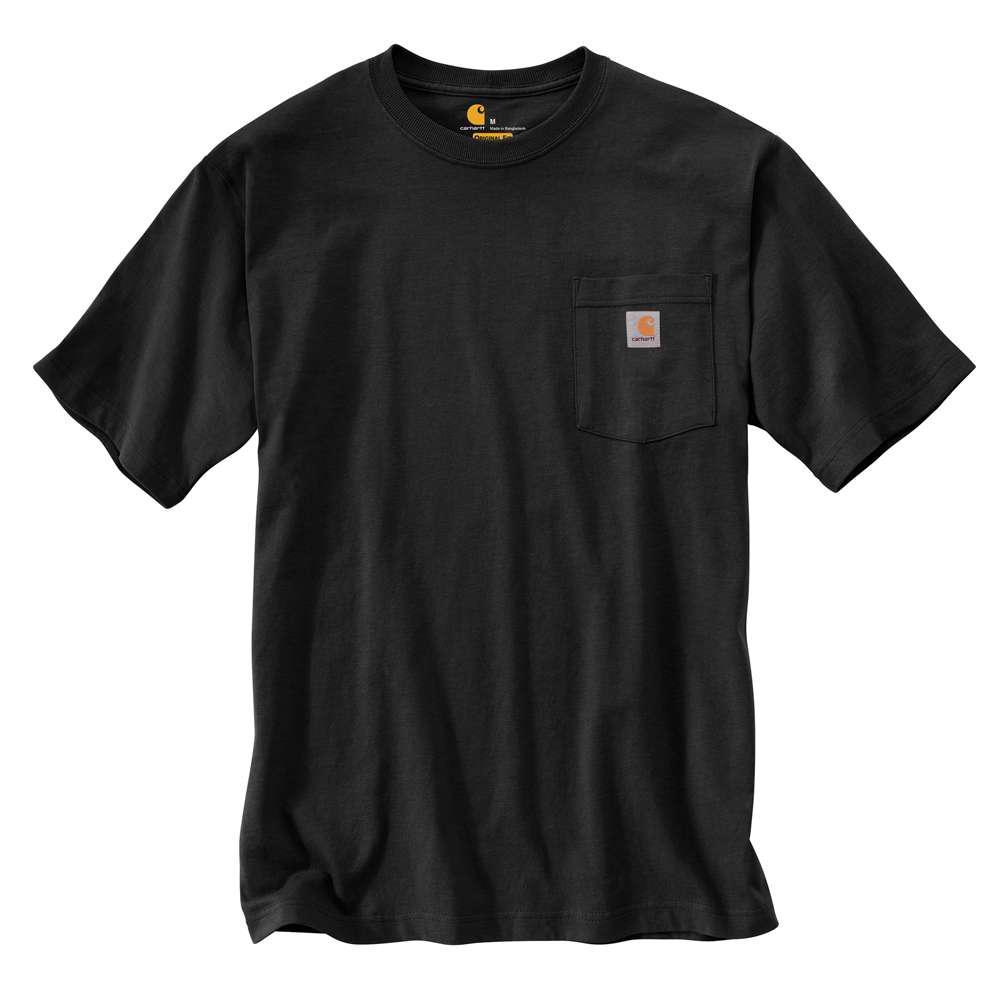Men's Regular XX Large Black Cotton Short-Sleeve T-Shirt