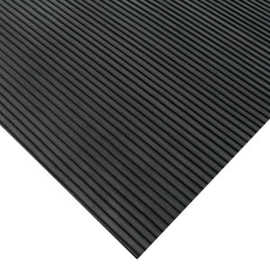 """2 PACK Corrugated Rubber Tool Box Liner BLACK Heavy Duty  1//8/"""" x 18/"""" x 5/'"""