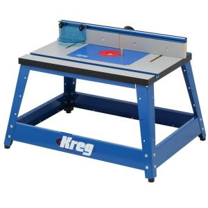 kreg router table kreg precision bench top router table prs2100 the home depot 28924