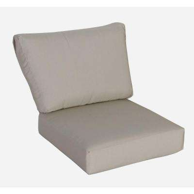 Mill Valley Beige Replacement Left or Right Section Back Cushion and Left or Right Section Seat Cushion