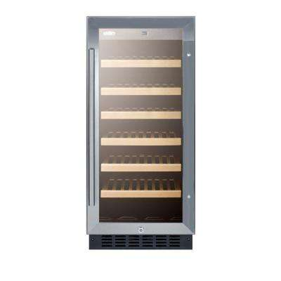 15 in. 33-Bottle Built-In Wine Cooler